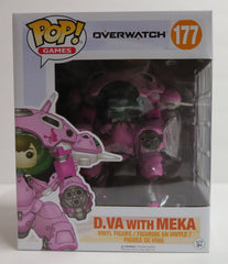 Pop Funko Overwatch D.Va with Mekka Vinyl Figure - Toyz in the Box