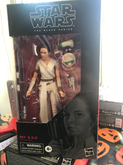 Star Wars Black Series Rey & D-0 #91 Rise of Skywalker Action Figure - Toyz in the Box