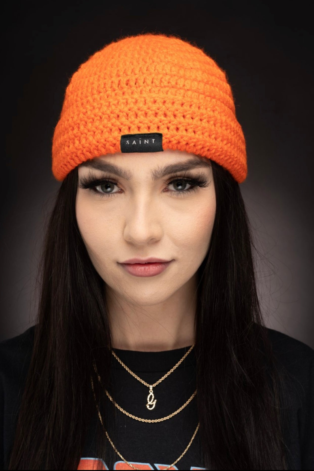 Mother Teresa Beanie / ORANGE