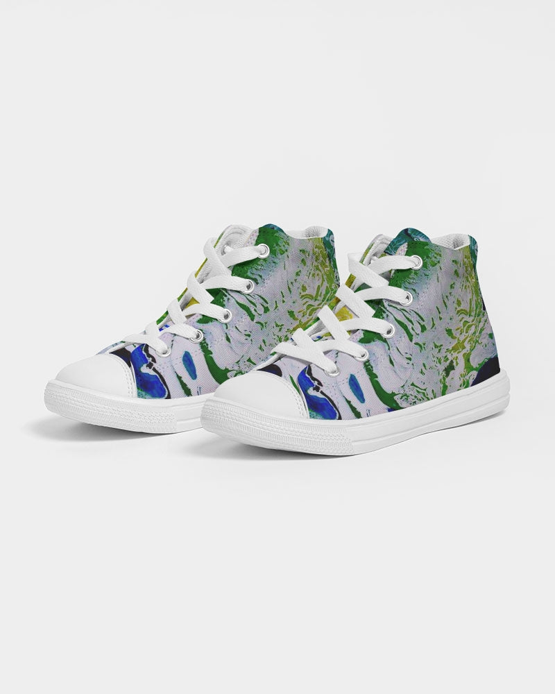 Kids Ocean Spray - High top Canvas Shoes - BG - (Sizes in US)