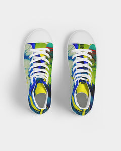 Women's Yellow Clouds - High Top Trainers - BY - (Sizes in US)