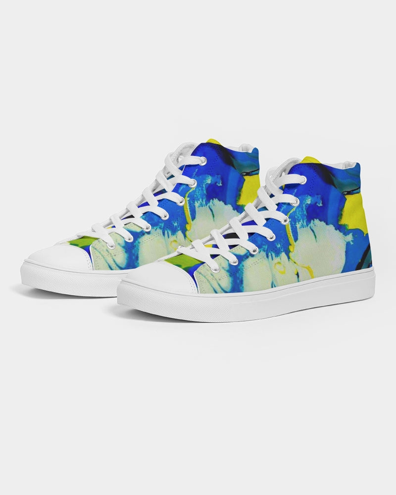 Men's Yellow Clouds - High top Shoes - BY - (Sizes in US)