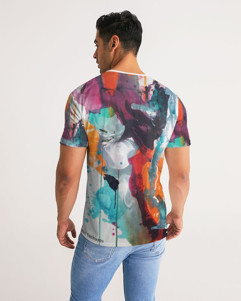 Men's Abstract Rust - T-Shirt - FO