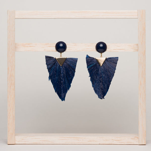 Triangle Clip Earrings