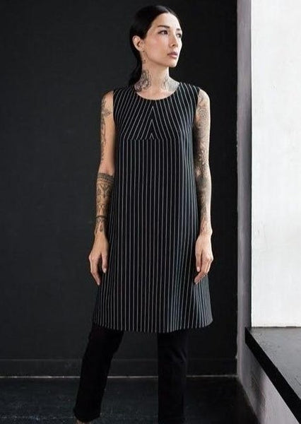 Pinstripes Dress