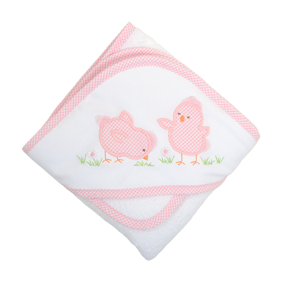 Chick Boxed Hooded Towel Set