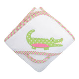 Alligator Boxed Hooded Towel Set