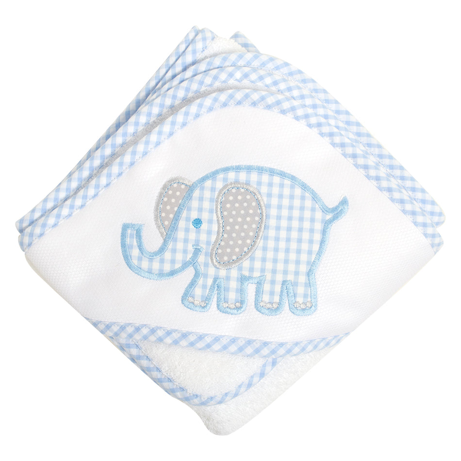 Elephant Boxed Hooded Towel Set