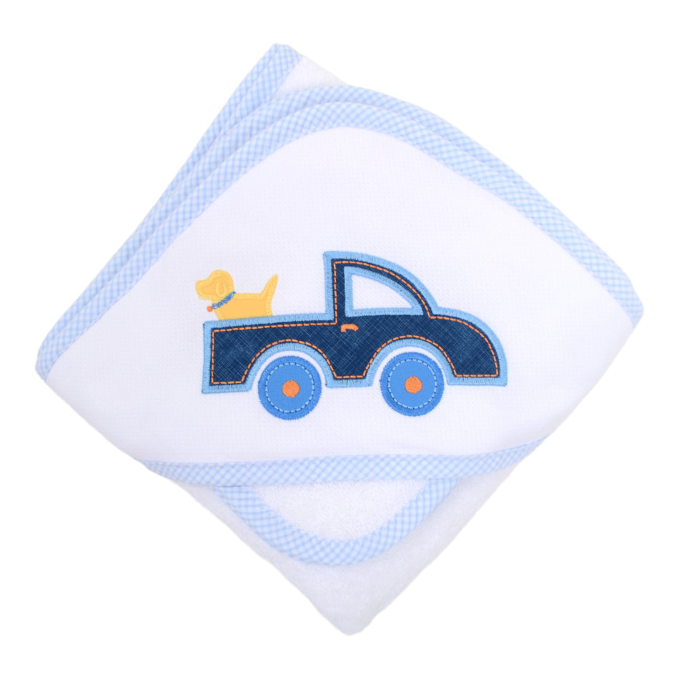 Truck Boxed Hooded Towel Set