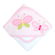 Butterfly Boxed Hooded Towel Set