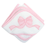 Bow Boxed Hooded Towel Set
