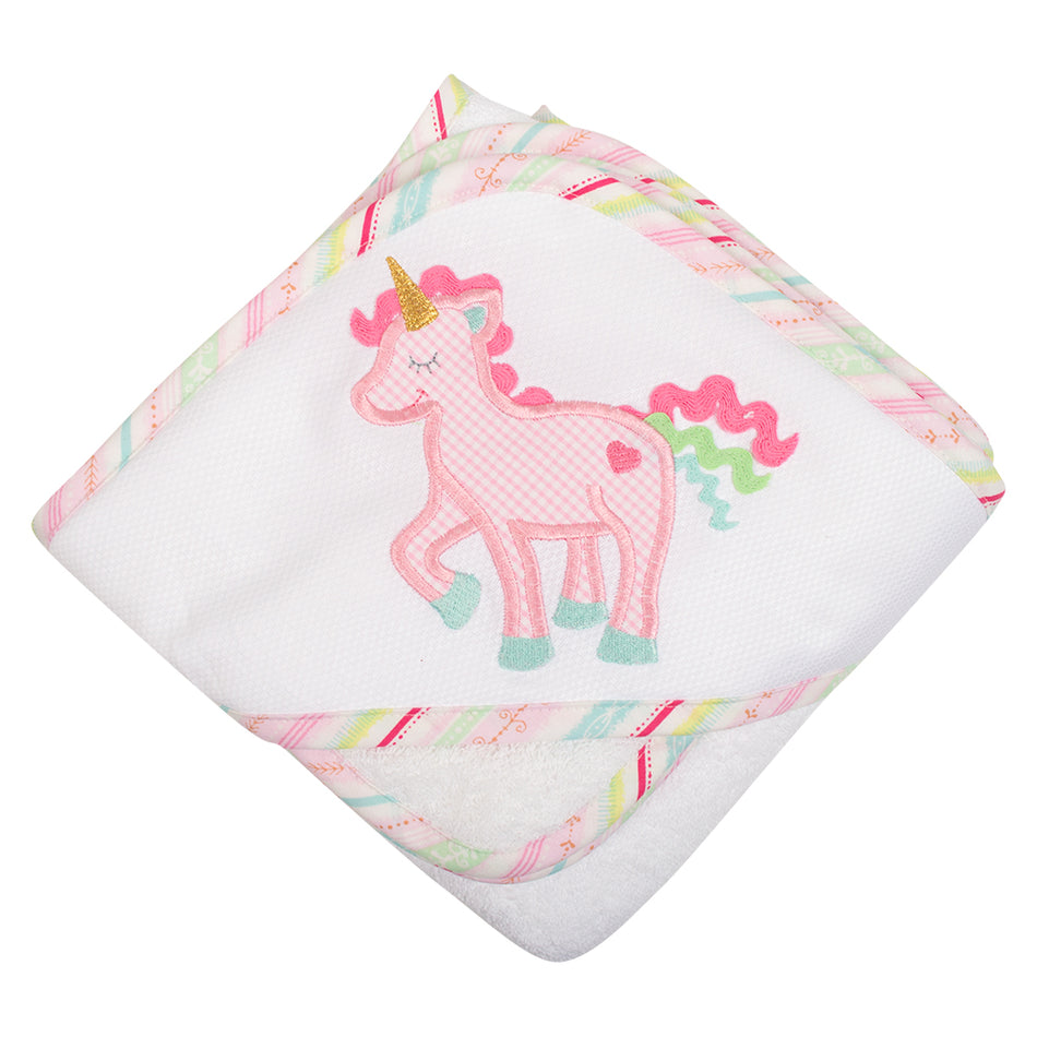 Unicorn Boxed Hooded Towel Set