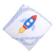Rocket Boxed Hooded Towel Set