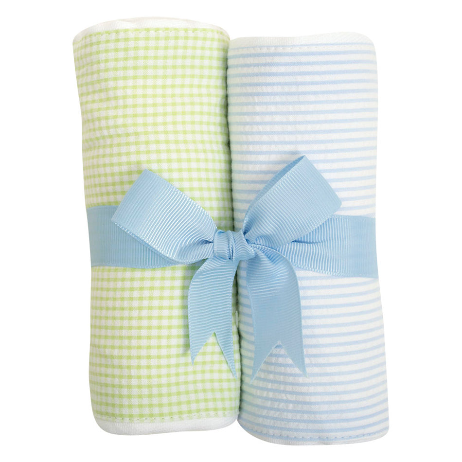 Lamb Set of Two Fabric Burps