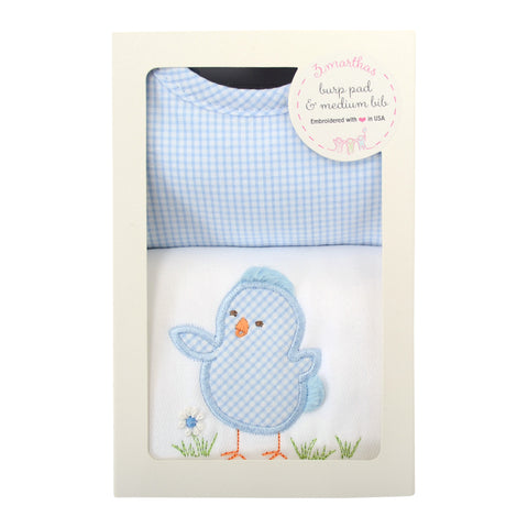 Chick Basic Bib & Burp Box Set