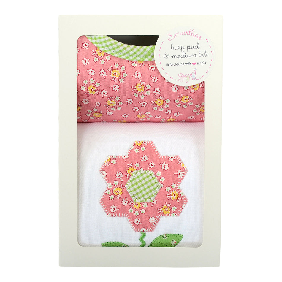 Daisy Basic Bib & Burp Box Set