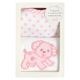Puppy Basic Bib & Burp Box Set