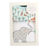 Safari Basic Bib & Burp Box Set