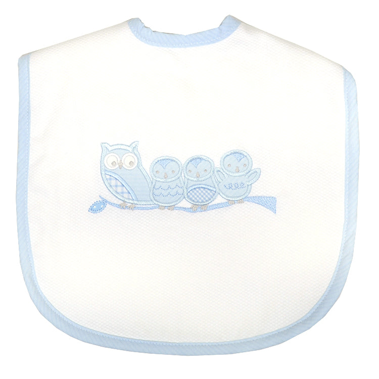Owl Toddler Bib