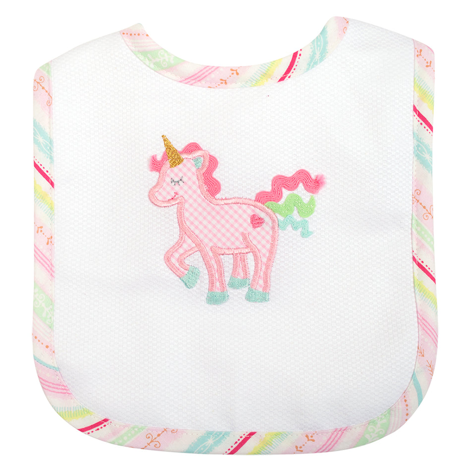 Unicorn Basic Bib