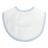 Check Burp Cloth Basic Bib