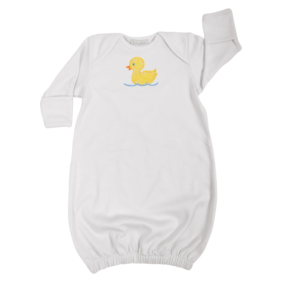 Duck Newborn Gown