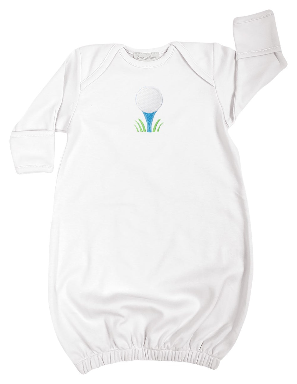 Golf Newborn Gown