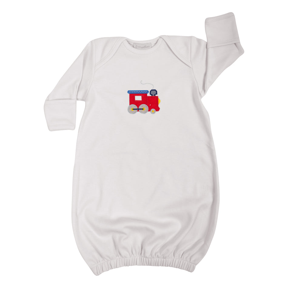 Train Newborn Gown
