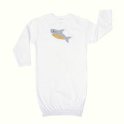 Shark Newborn Gown