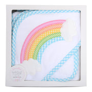 Rainbow Boxed Hooded Towel Set