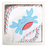 Crab Boxed Hooded Towel Set