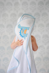 Dinosaur Boxed Hooded Towel Set