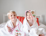 Reindeer Boxed Hooded Towel Set