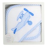 Airplane Boxed Hooded Towel Set