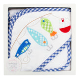 Fishing Pole Boxed Hooded Towel Set