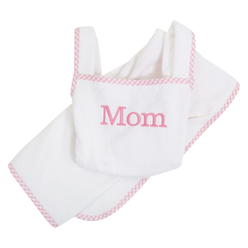 Check Cuddle Dry Apron
