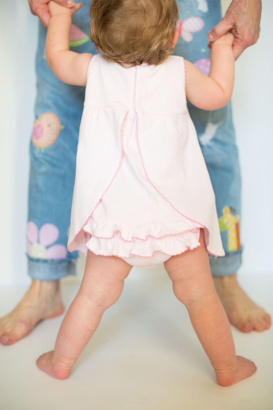 Pink Lamb Playdress