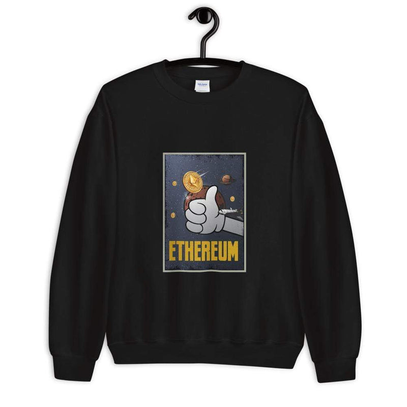 Ethereum Thumbs Up Crypto Sweatshirt