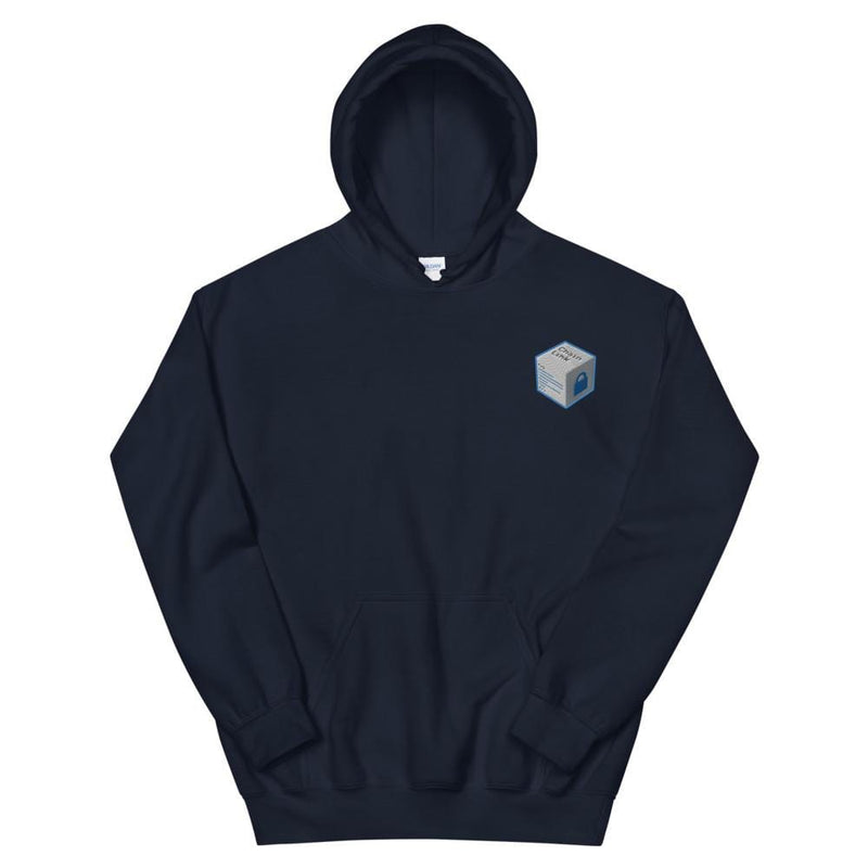 Chainlink Cube Embroidered Hoodie