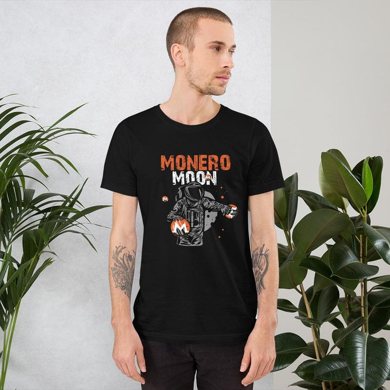 Monero Moon Man T-Shirt - Crypto Cove