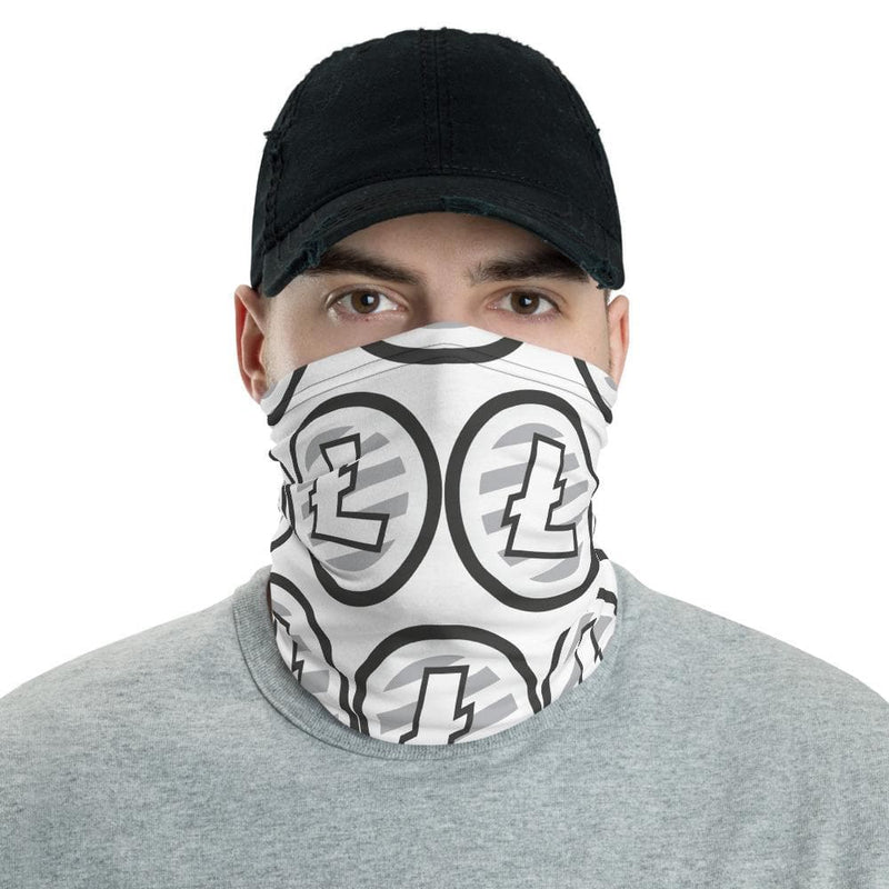 Litecoin LTC Face Mask - Crypto Cove