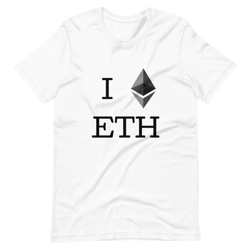 I ETH Ethereum T-Shirt - Crypto Cove