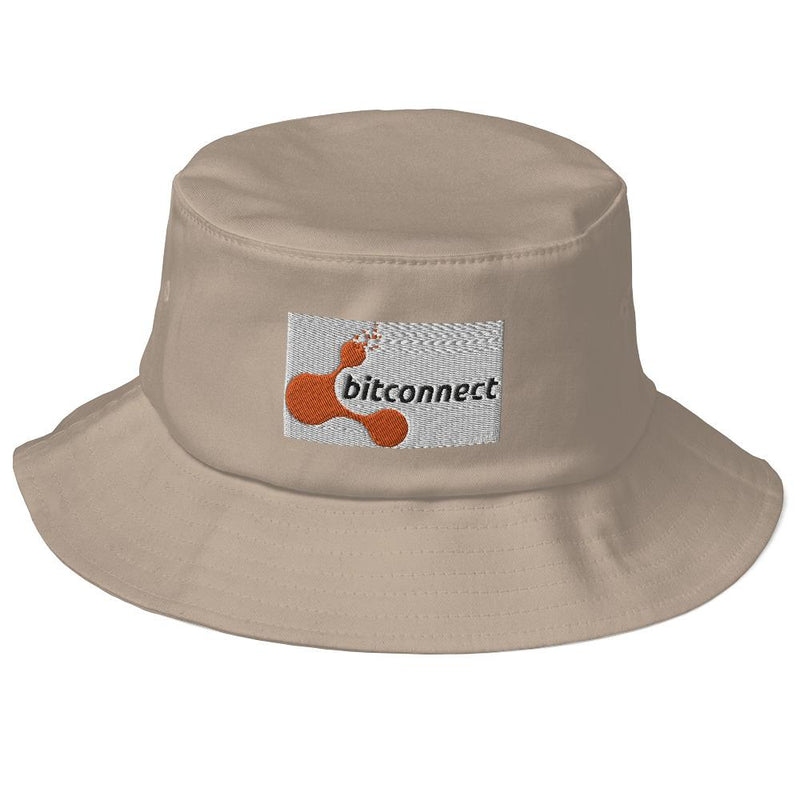 Bitconnect Old School Bucket Hat - Crypto Cove