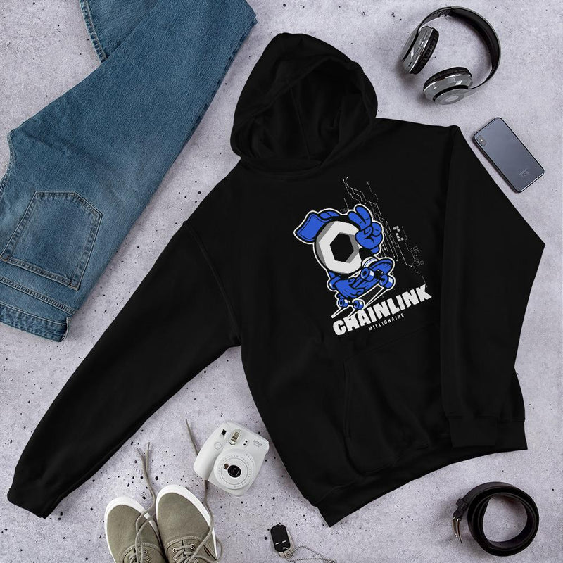 Chainlink Peace Crypto Hoodie - Crypto Cove