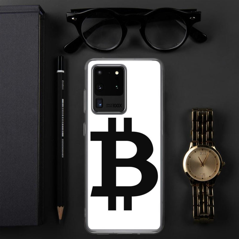 Black B for Bitcoin Samsung Case - Crypto Cove