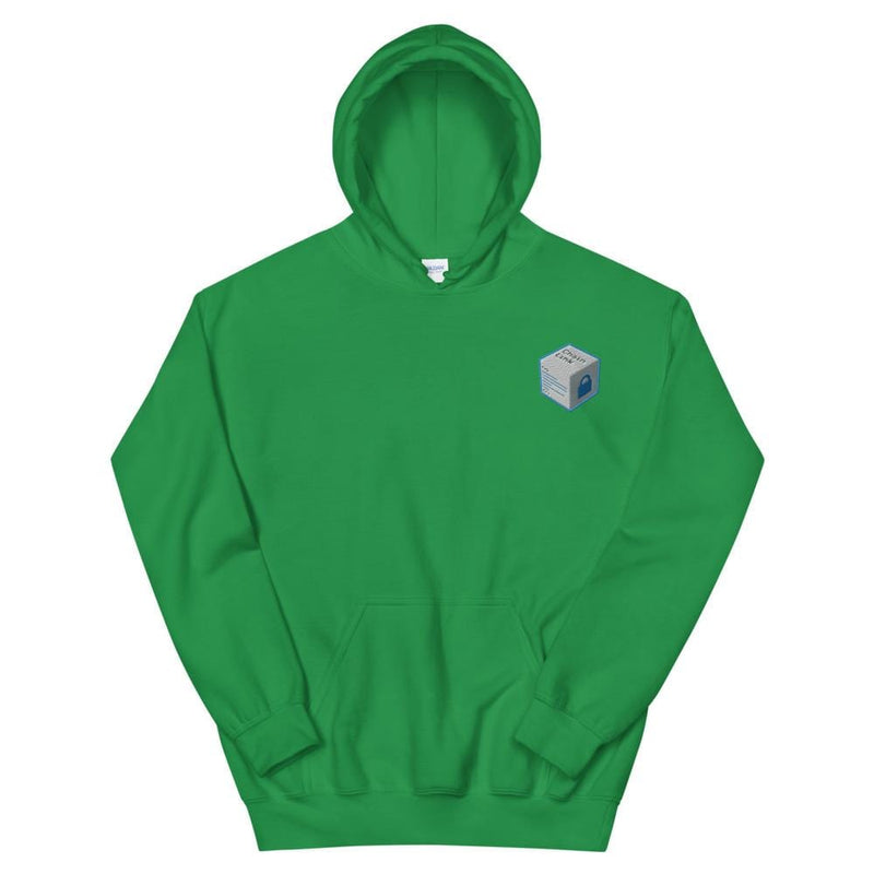 Chainlink Cube Embroidered Hoodie - Crypto Cove