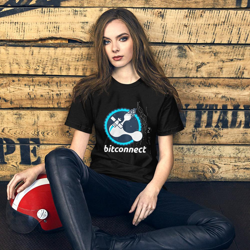Bitconnect Blue Space Crypto T-Shirt - Crypto Cove