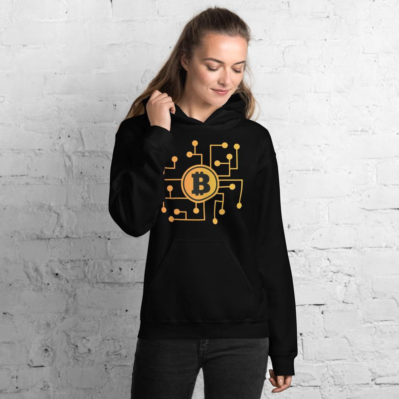 Bitcoin Network Crypto Merch  Hoodie - Crypto Cove
