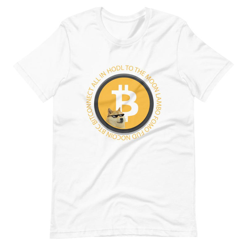 Bitcoin Meme T Shirt with Doge - Crypto Cove