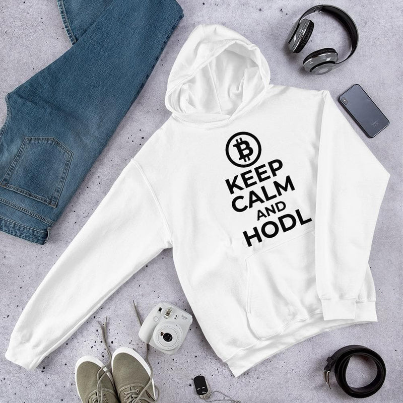 Keep Calm and HODL Hoodie - Crypto Cove